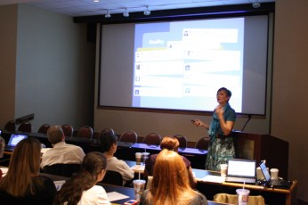 Speaker Hania Whitfield, Twitter for Small Business Seminar