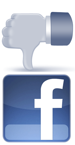 Facebook gets a thumbs down