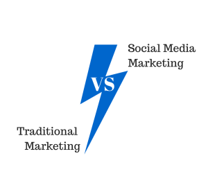 Traditional Marketing vs Social Media Marketing